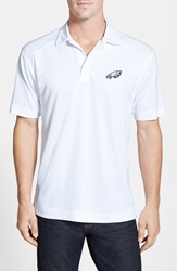 Cutter Buck 'Philadelphia Eagles Genre' Drytec Moisture Wicking Polo Big And Tall White