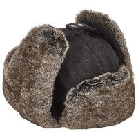 John Lewis Melton Trapper Hat Grey