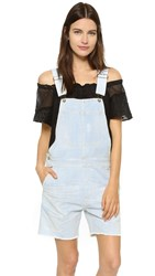 Citizens Of Humanity Denim Shortalls Ultraviolet