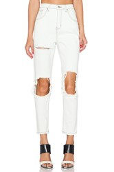 Unif Costa High Rise Skinny Dirty White