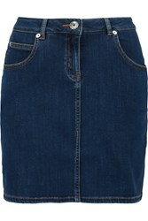 Love Moschino Denim Mini Skirt Blue