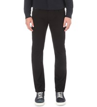 Armani Collezioni Slim Fit Tapered Jeans Black