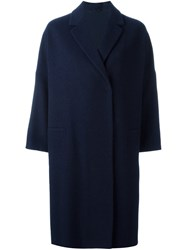Brunello Cucinelli Oversized Coat Blue