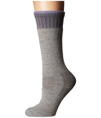 Carhartt Heavyweight Merino Wool Blend Boot Sock Heather Gray Women's Crew Cut Socks Shoes