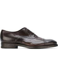 Henderson Fusion Classic Oxford Shoes Brown