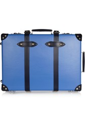 Globe Trotter Cruise 21 Leather Trimmed Fiberboard Travel Trolley Royal Blue