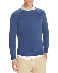 Eleventy Washed Cashmere Crewneck Sweater 100 Bloomingdale's Exclusive Atlantic Blue