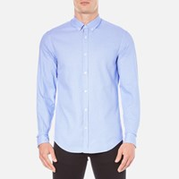 Hugo Boss Green Men's C Baldasar Long Sleeve Shirt Blue