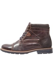 Pier One Laceup Boots Dark Brown