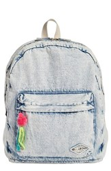 Billabong 'Sandy Trails' Denim Backpack