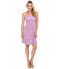 Tommy Bahama Brush Stroke Halter Dress Meadow Mauve Women's Dress Pink