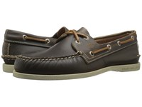 Sperry A O 2 Eye Waterloo Tan Men's Lace Up Moc Toe Shoes