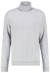 Your Turn Sweatshirt Mottled Light Grey