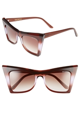 Wildfox Couture 'Ivy' 55Mm Sunglasses Purple Ombre