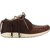 Visvim Fbt Moccasin Boots Brown