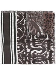 Pierre Louis Mascia 'Fanory' Scarf Brown
