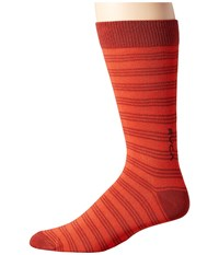 Rvca Goes Sock Red Clay Men's No Show Socks Shoes