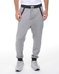 2Xist French Terry Drop Inseam Sweatpants Light Gray Men's
