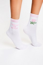 Yeah Bunny Womens Double Time Crew Sock