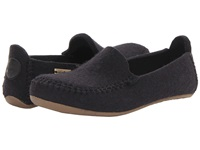 Haflinger Moccasin Black Slippers