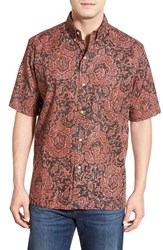 Men's Reyn Spooner 'Year Of The Monkey' Classic Fit Short Sleeve Print Sport Shirt