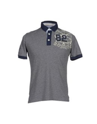 Beverly Hills Polo Club Polo Shirts Grey