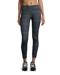 The Balance Collection Summer Breeze Space Dye Leggings Black