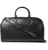 Michael Kors Bryant Full Grain Leather Duffle Bag Black