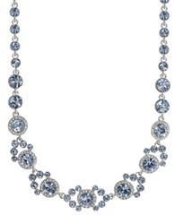 Givenchy Sapphire And Crystal Necklace Blue
