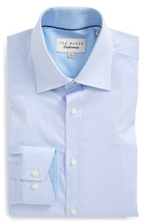 Ted Baker Trim Fit Dress Shirt Light Blue