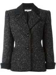 Yves Saint Laurent Vintage Boucle Jacket Black