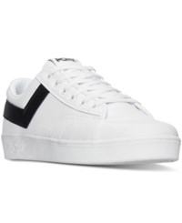 Pony Men's Vintage Slam Dunk Lo Ul Casual Sneakers From Finish Line White Black