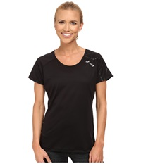 2Xu Ghxst Short Sleeve Top Black Black Women's Short Sleeve Pullover