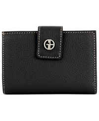 Giani Bernini Wallet Softy Leather Indexer Black