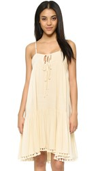Flannel Exhale Cami Dress Nude