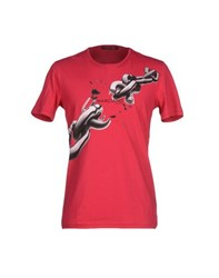 Guess By Marciano Topwear T Shirts Men Red