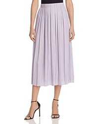 Elizabeth And James Quinn Pleated Midi Skirt Talc
