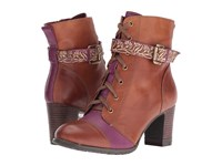 Spring Step Loreto Brown Women's Lace Up Boots