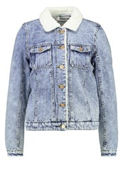 Noisy May Nmskyler Denim Jacket Medium Blue Denim