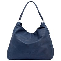 Liebeskind Yokohama Vintage Leather Hobo Bag Indigo Blue