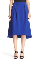 Armani Collezioni Women's Bonded Neoprene High Low Skirt