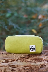 Chums Hurricane Sweat Nylon Pouch Lime