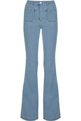 Michael Kors High Rise Flared Jeans