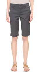 Vince Side Buckle Bermuda Shorts Iron