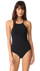 Zimmermann Separates Cross Back One Piece Black