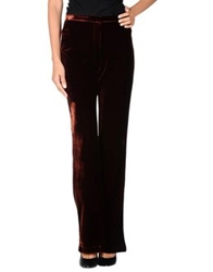 Roberto Collina Casual Pants Maroon