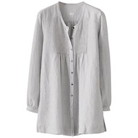 Poetry Linen Shirt Ice Grey