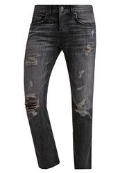 True Religion Rocco Relaxed Fit Jeans Stone Stack Grey Denim