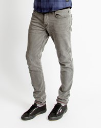 Only And Sons Mens 5 Pocket Slim Jeans Grey