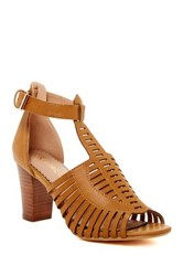 Restricted Ama Heel Sandal Brown